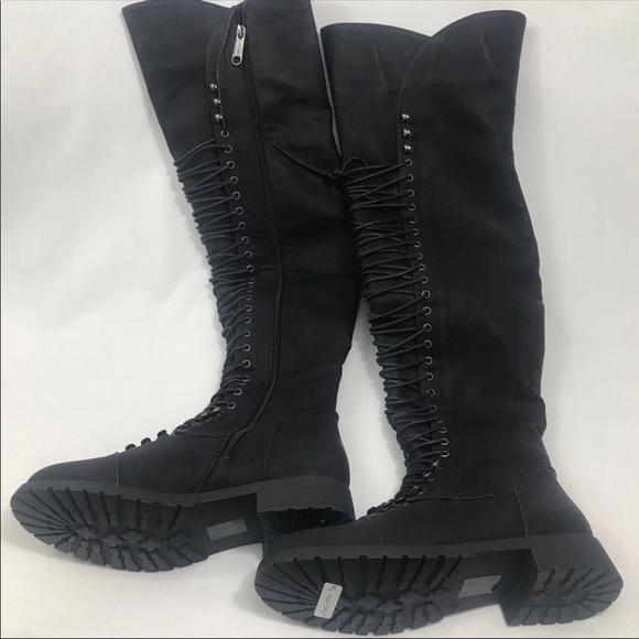 Poshmark Combat Windsor ShoesWomens Black Boots I29WYHeED